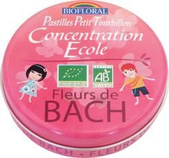 Pastilles Petit Tourbillon Concentration Ecole BIO format familial