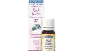 Rock Water, Eau de roche en granules Bio sans alcoolv