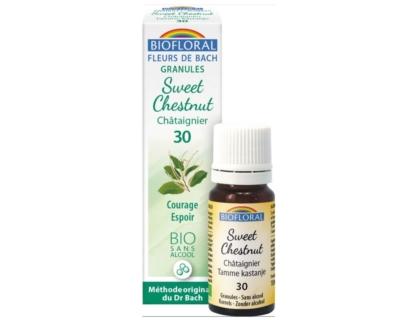 Sweet Chestnut, Châtaignier en granules Bio sans alcool